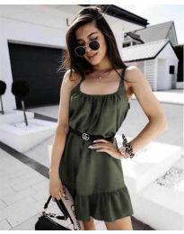 Obleka - koda 7768 - olivna
