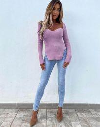 Bluza - koda 0837 - svetlo vijolična