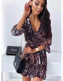 Obleka - koda 7677 - 1 - večbarvna