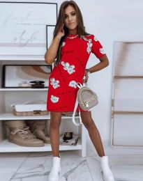 Obleka - koda 2906 - rdeča
