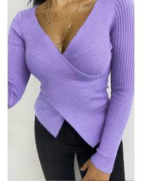 Bluza - koda 6322 - vijolična