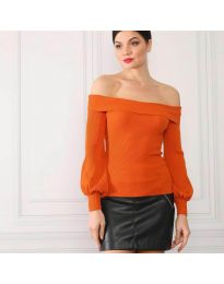Bluza - koda 0247 - oranžna