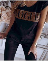 Majica - koda 2621 - črna