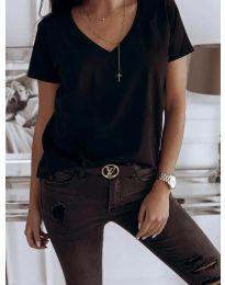 Majica - koda 3638 - črna