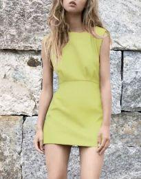 Obleka - koda 1233 - gorčica