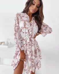 Obleka - koda 2550 - večbarvna