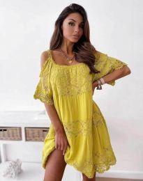 Obleka - koda 6954 - rumena