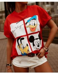 Majica - koda 964 - 2 - rdeča