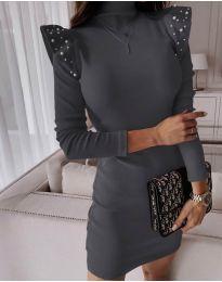 Obleka - koda 9494 - temno siva