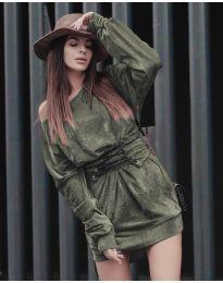 Obleka - koda 8989 - zelena