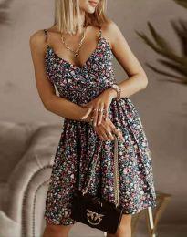 Obleka - koda 2581 -večbarvna