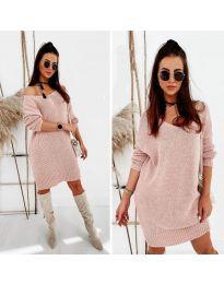 Obleka - koda 6457 - roza