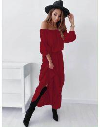 Obleka - koda 1317 - bordo