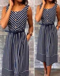 Obleka - koda 5678 - 1 - temno modra