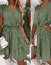 Obleka - koda 2345 - olivno zelena