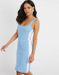 Obleka - koda 1253 - svetlo modra