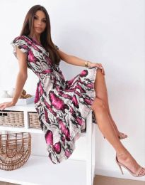 Obleka - koda 6747 - večbarvna