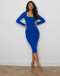 Obleka - koda 4802 - modra