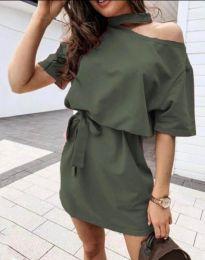 Obleka - koda 0256 - 3 - olivna