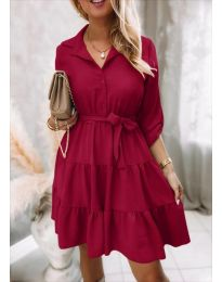 Obleka - koda 6970 - bordo