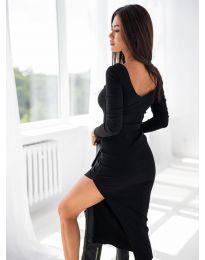 Obleka - koda 12070 - črna