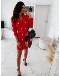 Obleka - koda 5888 - 4 - rdeča
