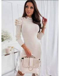 Obleka - koda 2915 - 2 - bela