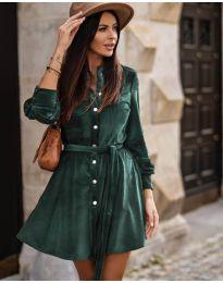 Obleka - koda 3999 - olivna