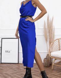 Obleka - koda 6231 - temno modra