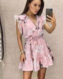 Obleka - koda 8125 - roza