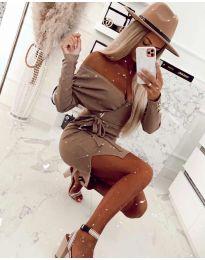 Obleka - koda 2077 - rjava