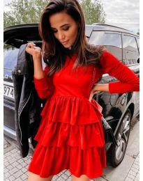 Obleka - koda 3109 - rdeča