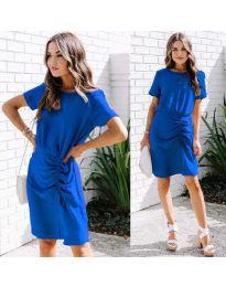 Obleka - koda 835 - temno modra