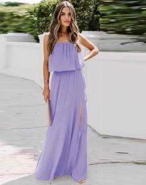 Obleka - koda 8871 - vijolična