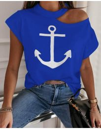 Majica - koda 206 - modra