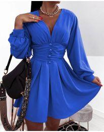 Obleka - koda 4343 - modra