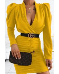 Obleka - koda 953 - gorčica
