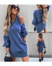 Obleka - koda 296 - modra