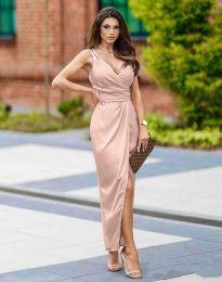 Obleka - koda 6135 - svetlo roza