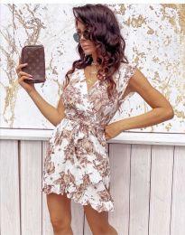 Obleka - koda 0056 - bela
