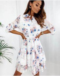 Obleka - koda 8877 - 1 - večbarvna