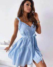 Obleka - koda 0710 - 2 - svetlo modra