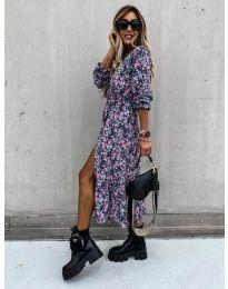 Obleka - koda 2745 - večbarvna