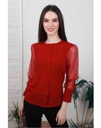 Bluza - koda 0631 - 3 - rdeča