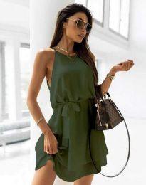 Obleka - koda 9968 - olivno zelena