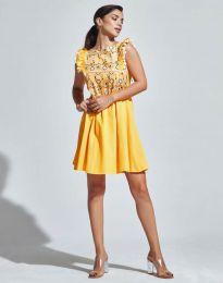 Obleka - koda 1482 - 3 - rumena