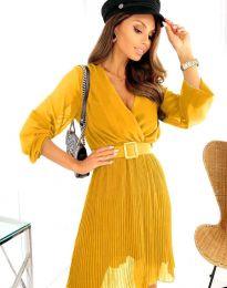 Obleka - koda 3497 - gorčica