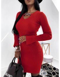Obleka - koda 5666 - rdeča