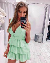 Obleka - koda 6939 - svetlo zelena