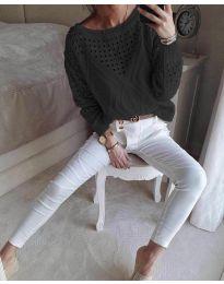 Bluza - koda 6182 - črna